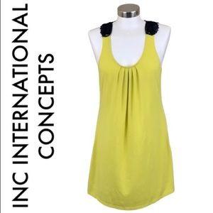 INC INTERNATIONAL CONCEPTS GREEN DRESS SIZE LARGE